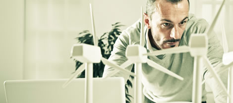NATS offers many services to help wind farm owners, developers and the aviation industry to operate in harmony.